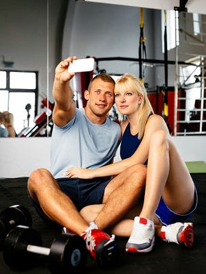 Make sure to respect others' privacy before snapping a selfie at the gym.