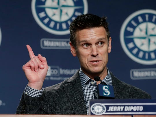 Mariners general manager Jerry Dipoto has reportedly been talking to several teams about possible trades during this week's general managers meetings.