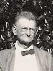 Francis Marion Platt in the 1920s.