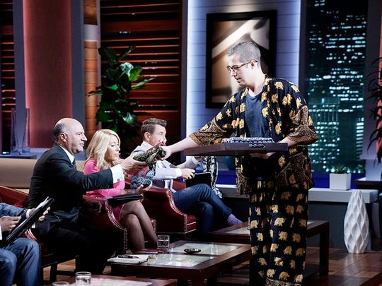 "RIT alumni James Brooks and Nathan Coleman will pitched The Elephant Pant to investors on ABC's ""Shark Tank."""