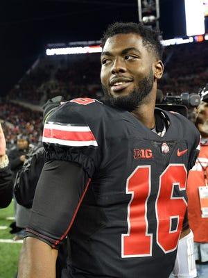 Ohio State Buckeyes quarterback J.T. Barrett will start against Rutgers.