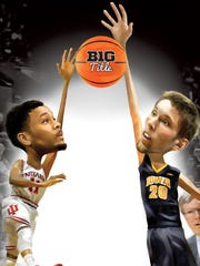 There's a lot at stake Thursday in Iowa's matchup with fellow Big Ten power Indiana.