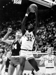Indiana University star Steve Downing, a former Washington High School star, played for IU for three seasons and then had a brief stint in the NBA.