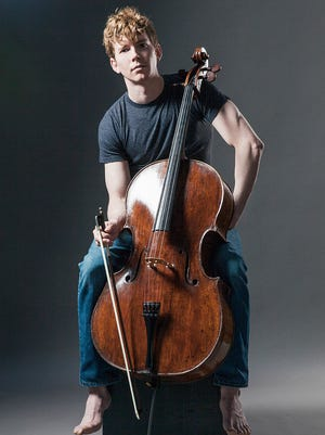 Cellist Joshua Roman will share the Lawrence Memorial Chapel stage with the JACK Quartet on Saturday.