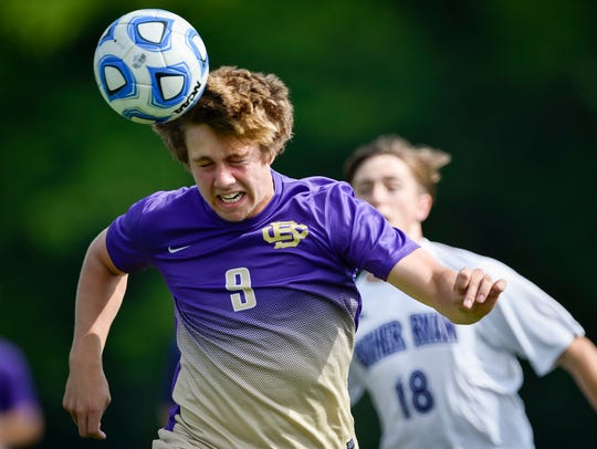 Conner DeFreece is one of four CBHS players named to the TSCA Division II-AA all-state team.