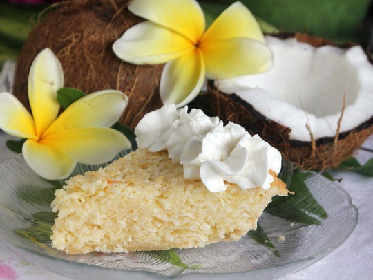 The Little Bar's homemade coconut crunch pie is from a family recipe handed down the generations of the Bozicnik family.