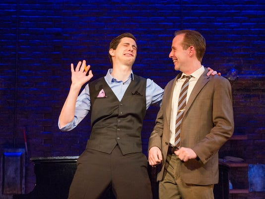 Kyle Branzel and Ian Lowe in MURDER FOR TWO 2 (Photo by Jim Cox).jpg