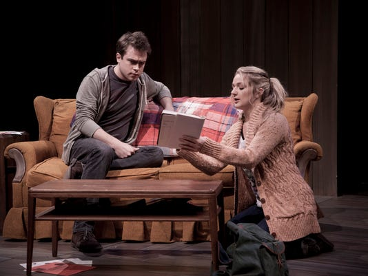 Emily Stout and David Jackson in Rules of Comedy by Patricia Cotter_Photo by.jpg