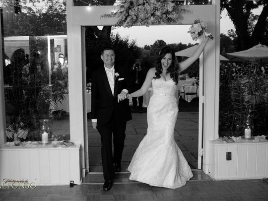 Pat Quinn on his wedding day, July 5, 2013, at Crabtree's Kittle House in Chapaqqua.