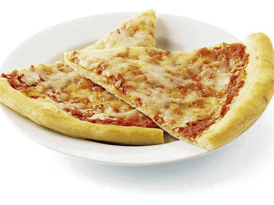 Slices of pizza.
