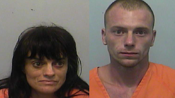 Angel W. Walker, 42, and her son Casey L. Wilcox, 23, were charged in the assault and burglary of an elderly Lake City woman.