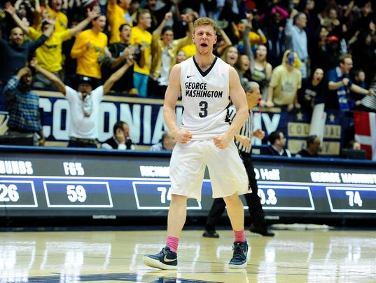 George Washington guard Paul Jorgensen transfers to Butler