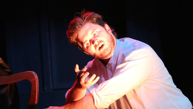 "Taylor Williams as Mr. Hyde in ""Jekyll & Hyde."""