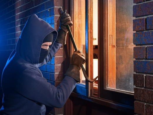 Burglary, shoplifting, car theft: Where property crime is