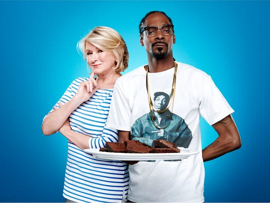 "Martha Stewart and rapper Snoop Dogg star on ""Martha"