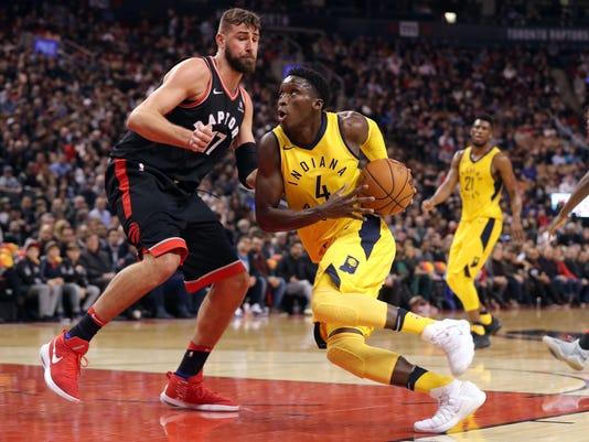 NBA: Indiana Pacers at Toronto Raptors