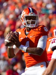 Deshaun Watson returns to the lineup this week for