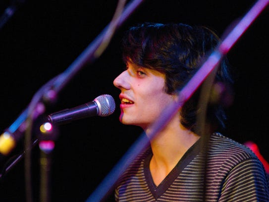 Teddy Geiger, shown here performing at The Club at