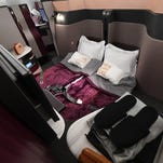 Qatar Airways' luxurious new 'Qsuite' seats now flying from the USA