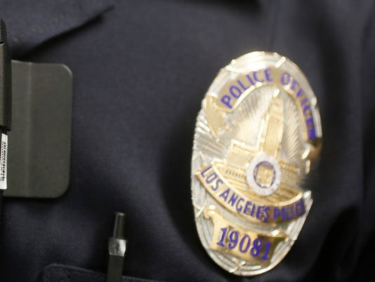 AP LAPD BODY CAMERAS A FILE USA CA