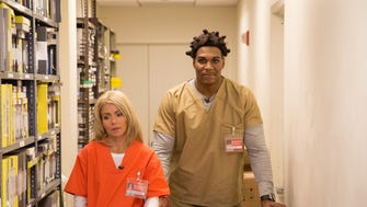 You knew Kelly and Michael would do 'Orange Is the New Black.'