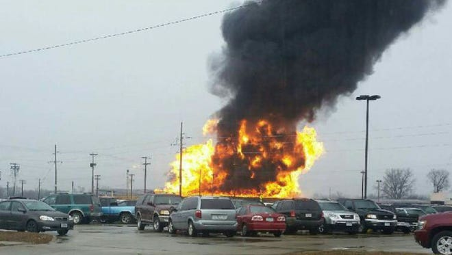 A fire at JBS Swift in Marshalltown caused approximately $500,000 in damage Saturday.