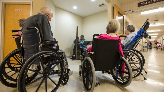 Area nursing homes limit the number of beds for seniors on fixed incomes.