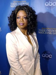 Oprah Winfrey, one of the executive producers of the
