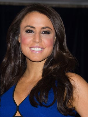 Andrea Tantaros attends the 2015 White House Correspondents' Association Dinner at the Washington Hilton Hotel on April 25, 2015.