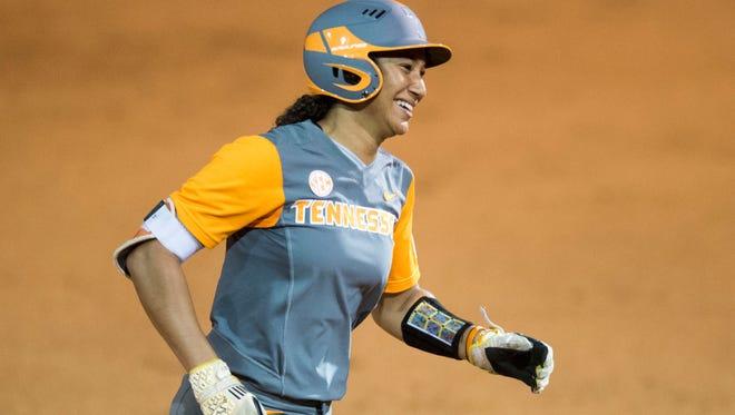 Tennessee's Brooke Vines had been sidelined while recovering from a shoulder injury.