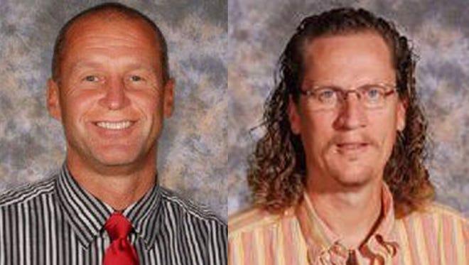 John Veldt, left, and Jeff Moon