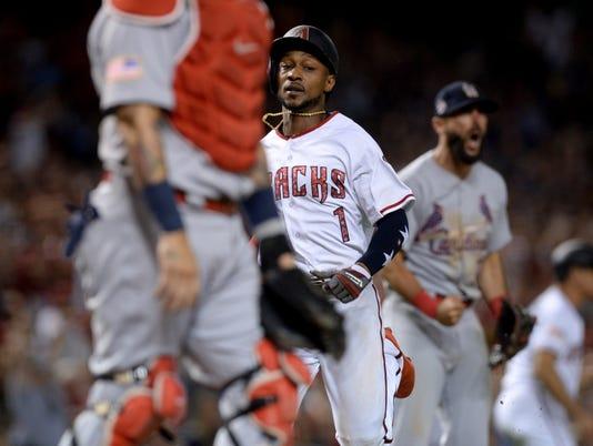 MLB: St. Louis Cardinals at Arizona Diamondbacks