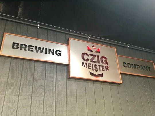 Inside Czig Meister Brewing.