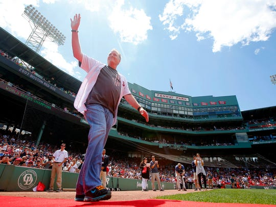 Former D-Backs, Phillies and Red Sox pitcher Curt Schilling has 3,116 career strikeouts, making him one of only 16 players with 3,000 Ks.