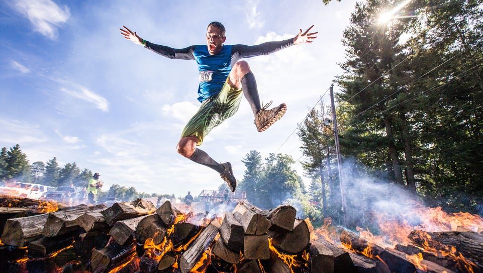 When the weather starts to cool down, the Rugged Maniac
