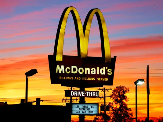 #file McDonald's Stock Photo