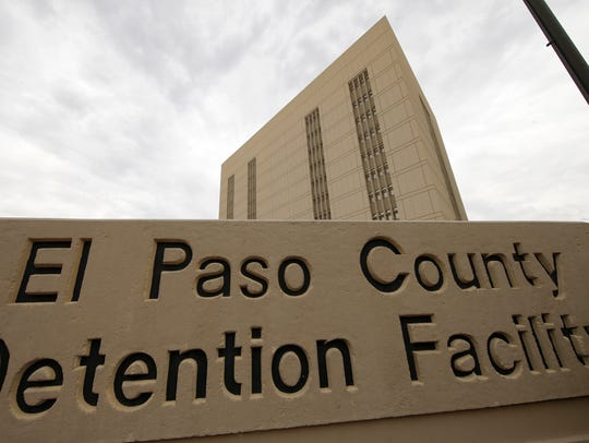 El Paso County Jail in Downtown