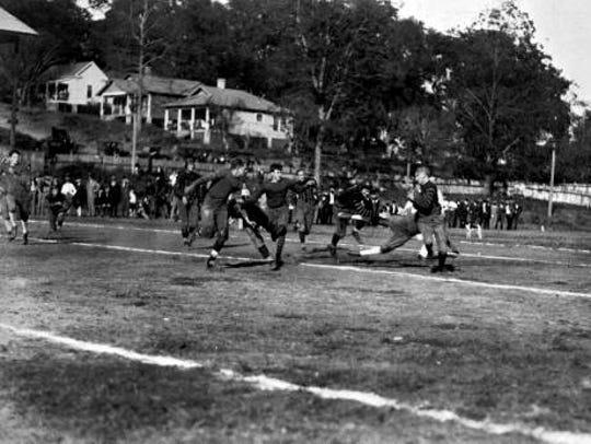 Centennial Field, now Cascades Park, was home to the