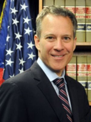 NYS Attorney General Eric Schneiderman