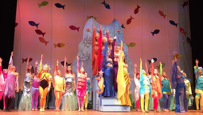 """""""The Little Mermaid"""" at Axelrod Performing Arts Center."""