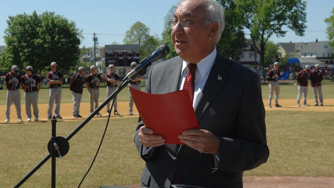 The Clifton City Council honored Mayor James Anzaldi by naming the Athenia Steel Recreational Complex after him.