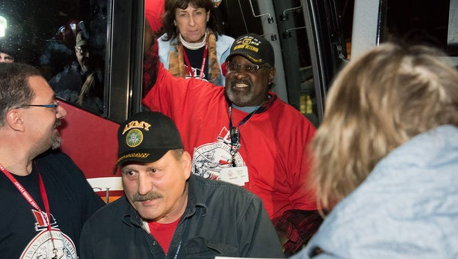 Twin Tiers Honor Flight took a group of veterans to Washington, D.C. on Nov. 11.