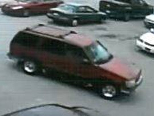 Police say this is the getaway vehicle used by a man suspected of stealing cigarettes from the Walgreens in York Township on July 5.