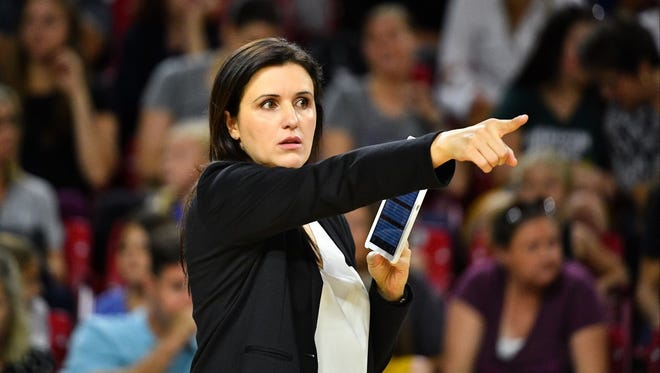 Sanja Tomasevic is remaining with ASU volleyball as its new head coach, moving up after one season as an assistant.