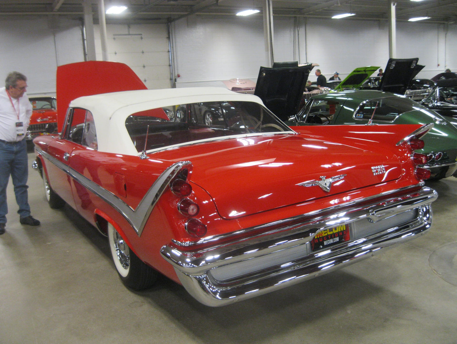 $48M worth of classic cars sold at Indianapolis auction