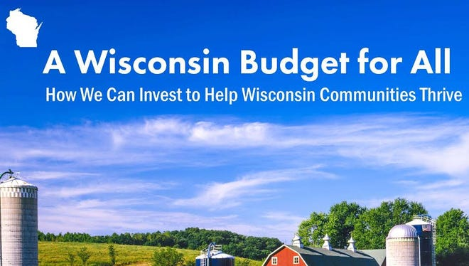 A Wisconsin Budget for All cover photo.