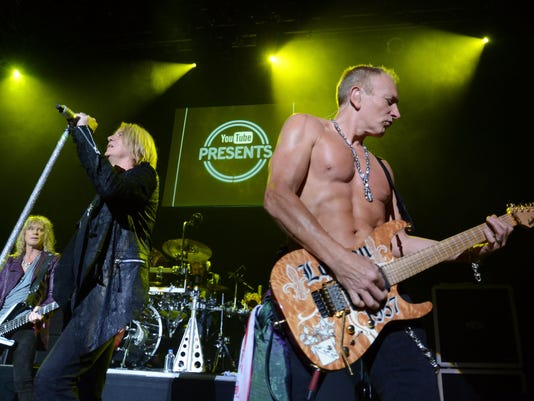 YouTube Presents Def Leppard At The House Of Blues