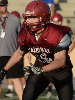 Anthony Morales has rushed for 1,1432 yards and 11 touchdowns on 123 carries in six games for Santa Paula.
