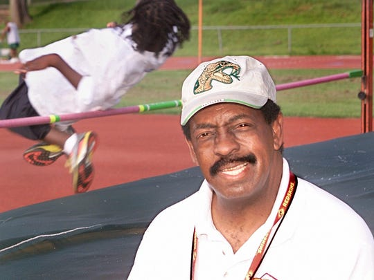 Former Jefferson County and FAMU High track & field and football coach Harry Jacobs retired in 2003 before coming out of retirement to coach Rickards for three years. He's now in his second year back at Jefferson County where he won state track titles from 1974-76. He coached FAMU High to 13 state titles.