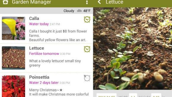 Garden Manager: Plant Alarm